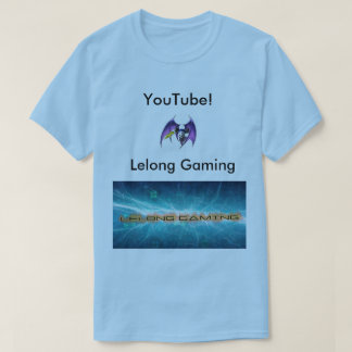Lelong Gaming T-shirt Blue