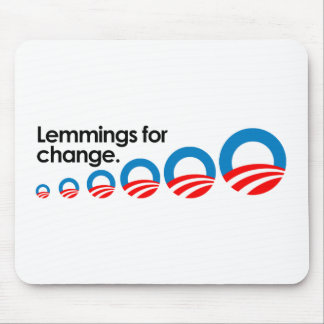 Lemmings for change mouse pads