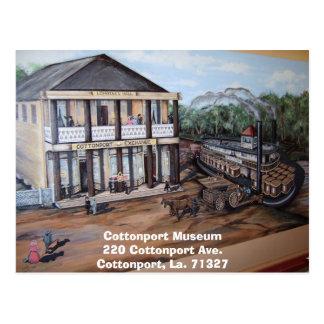 Lemoine Hall, Cottonport Museum220 Cottonport A... Postcard
