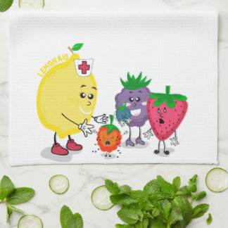 Lemon Aid Kitchen Towel