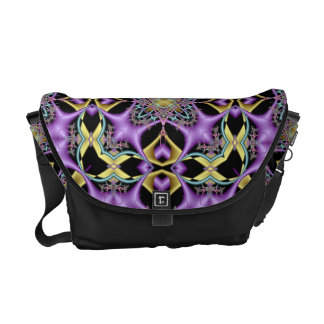 Lemon and Lilac No 1 Messenger Bag