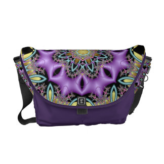 Lemon and Lilac No 3 Messenger Bag