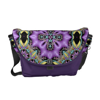 Lemon and Lilac No 4 Messenger Bag