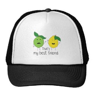 Lemon and Lime Best Friends Cap
