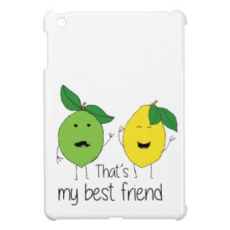 Lemon and Lime Best Friends iPad Mini Cover
