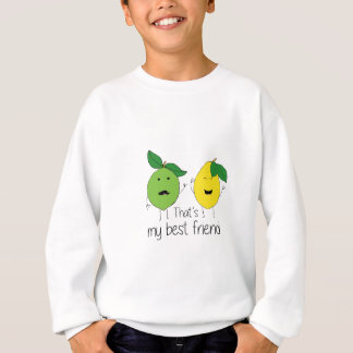 Lemon and Lime Best Friends Sweatshirt