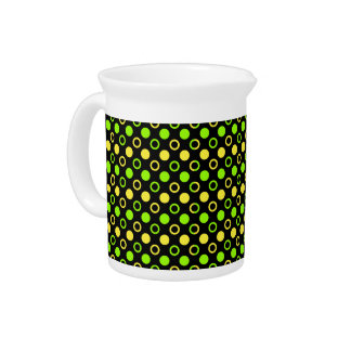 Lemon and Lime Rings and Polka Dots by STaylor Pitcher