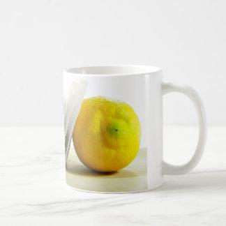 Lemon and Tea Bags Mug