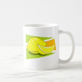Lemon Basic White Mug