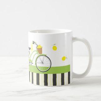 Lemon Bicycle Mug