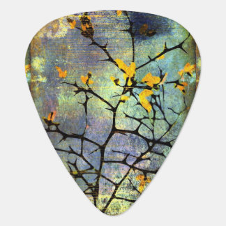 Lemon Blossom Branches Guitar Picks Guitar Pick