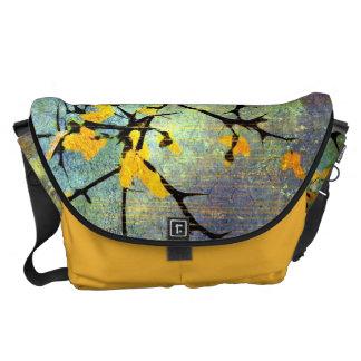 Lemon Blossom Branches Messenger Bag