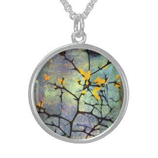Lemon Blossom Branches Necklace