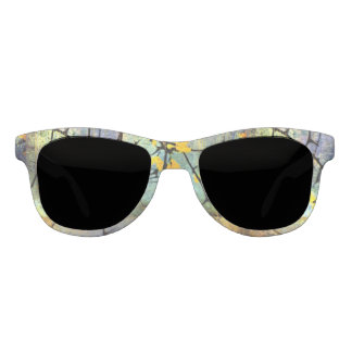 Lemon Blossom Branches Sunglasses