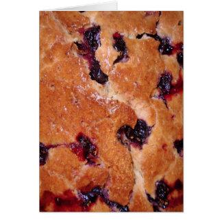 Lemon Blueberry Cake Card