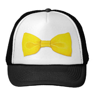 Lemon Bowtie Hat