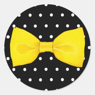 Lemon Bowtie Sticker