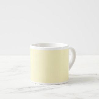Lemon Chiffon Pastel Espresso Mug