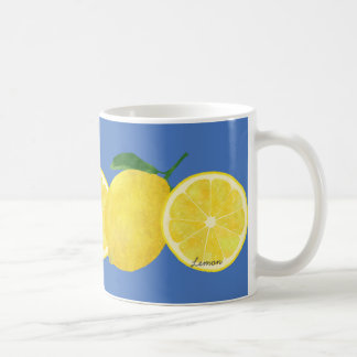 Lemon Classic White Mug