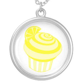 Lemon Cupcake Necklace