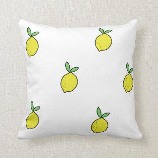 Lemon Doodle Throw Pillow | Pillow designs