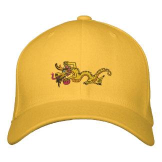 Lemon Dragon Embroidered Hats