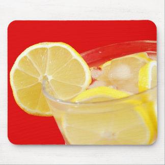 Lemon drink design mouse pad