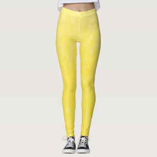 Lemon Drop Plush Leggings