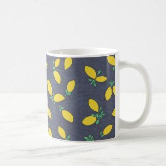 Lemon Drops Food Art Pattern Coffee Mug