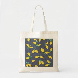 Lemon Drops Food Art Pattern Tote Bag
