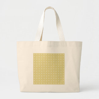 Lemon Flower Pattern Large Tote Bag