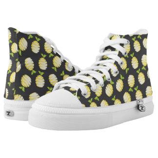 Lemon fruit high tops