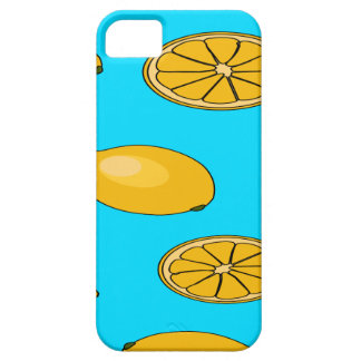 Lemon fruit pattern barely there iPhone 5 case