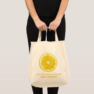 Lemon Grocery Bag