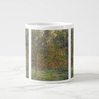 Lemon Grove in Bordighera by Claude Monet Jumbo Mug