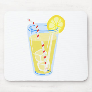 Lemon Iced Tea Mouse Pad