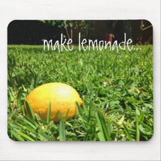 Lemon in the Grass Mouse Pad | Make Lemonade