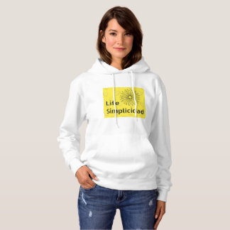 Lemon Juice Bar by Life Simplicidad Hoodie