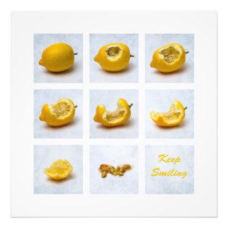 Lemon - Keep Smiling Photographic Print