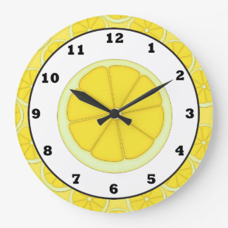 Lemon Kitchen clock