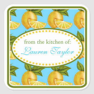 Lemon  Kitchen stickers