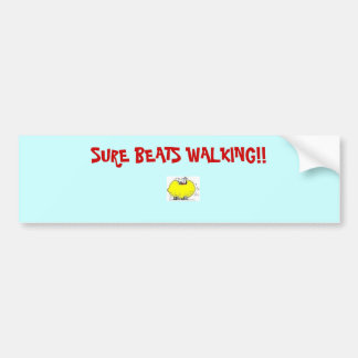 Lemon_Law_Car-medium-init-, SURE BEATS WALKING!! Bumper Sticker