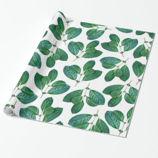 Lemon Leaf Wrapping Paper