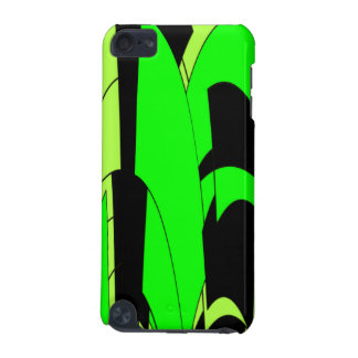 Lemon Lime Abstract Art iPod Touch 5G Cover