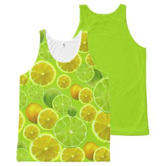Lemon & Lime All-Over Print Singlet