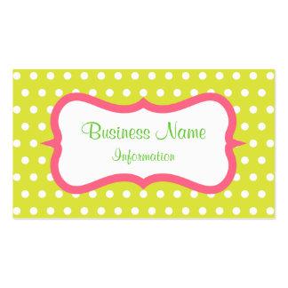 Lemon Lime Citrus Business Card