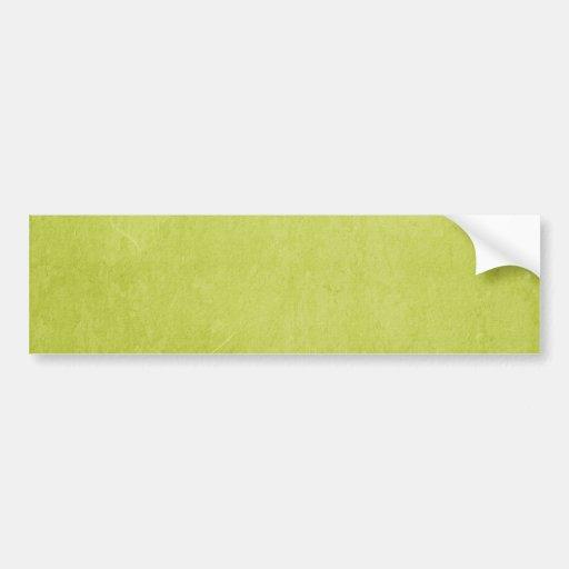 LEMON LIME GREEN YELLOW CARDBOARD BACKGROUND WALLP BUMPER STICKER