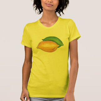 Lemon Lime Lemons n Limes Fruity Citrus Fruit Tee