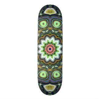 Lemon Lime Mandala Skateboards