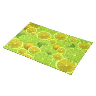Lemon & Lime Placemat
